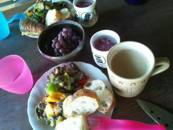 ふるさと家 朝食②